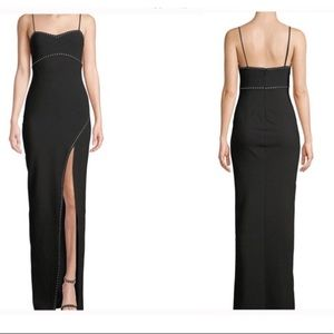 NWT Likely Charlene Studded Maxi Dress Gown